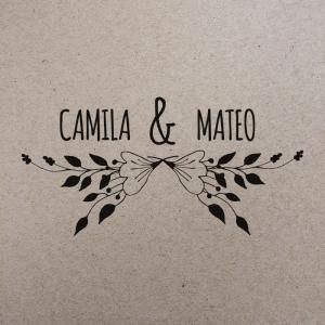 "Sello de Goma ""Camila"""