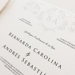 "Invitación ""Bernarda"""