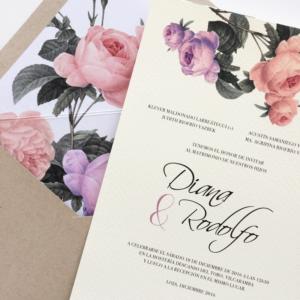 """Invitación """"Diana"""""""
