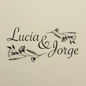 """Sello de Goma """"Lucía"""""""