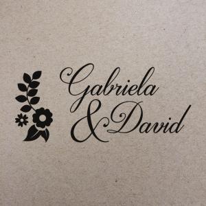 """Sello de Goma """"Gabriela"""""""