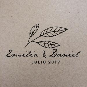 """Sello de Goma """"Emilia"""""""