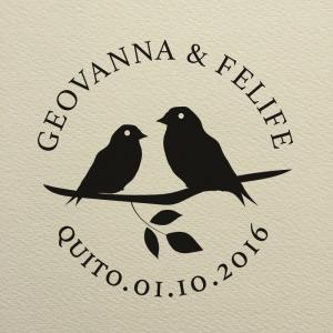 """Sello de Goma """"Geovanna"""""""