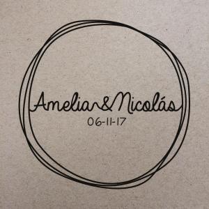 """Sello de Goma """"Amelia"""""""