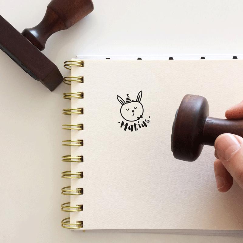 """Sello de Goma """"Conejo"""""""