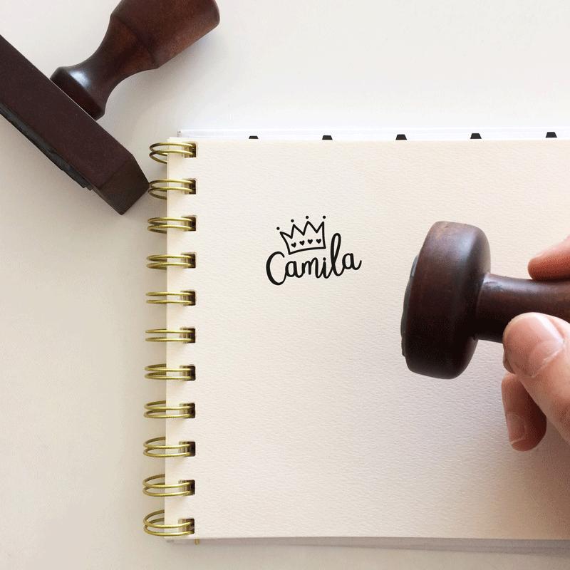 """Sello de Goma """"Corona"""""""