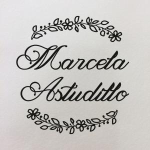 """Sello de Goma Personal """"Marcela"""""""