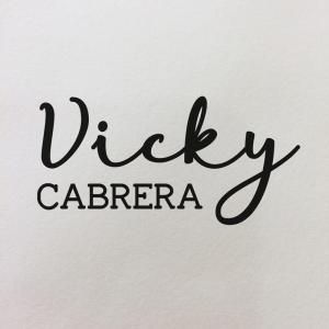 """Sello de Goma Personal """"Vicky"""""""