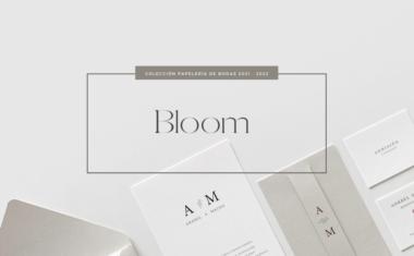 Papelería de Bodas 2021 – 2022 : Colección Bloom